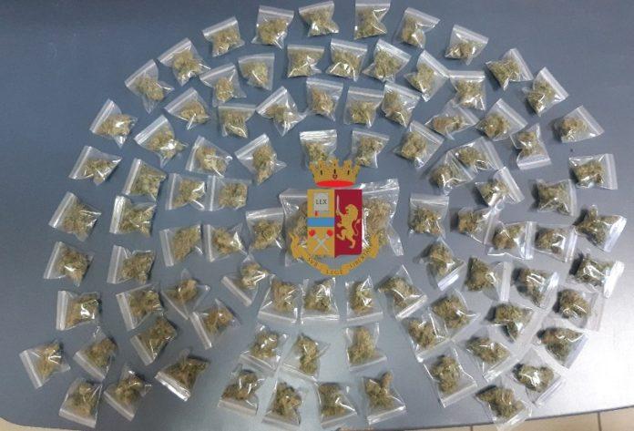Casoria: Nasconde la marijuana sotto le coperte. Arrestato 20enne