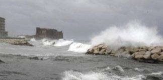 Vento forte e mare mosso, scatta l'allerta meteo in Campania
