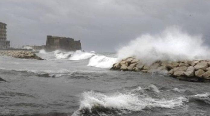 Meteo Campania: pioggia e vento forte, è la tempesta di Santa Lucia