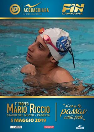 Al via la prima edizione del trofeo di nuoto dedicato a Mario Riccio