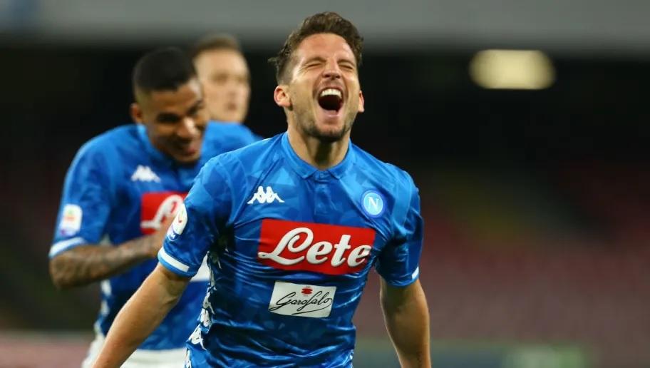 """Calcio Napoli, il messaggio di Mertens: """"Per vincere servono altri campioni"""""""