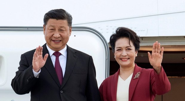L'Era della Stella Polare saluta il presidente cineseXI Jinpinga Roma