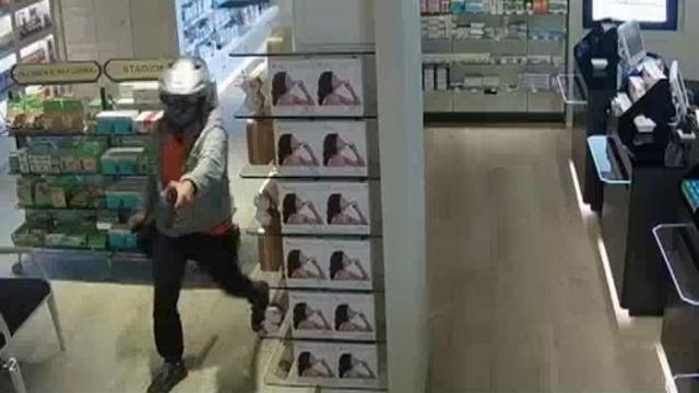 Caivano: Rapina una farmacia con mascherina chirurgica e armato di coltello
