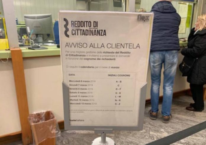 Reddito di cittadinanza, oltre 500mila domande ai Caf