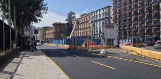 Napoli, Riviera di Chiaia: si allarga il cantiere della metropolitana