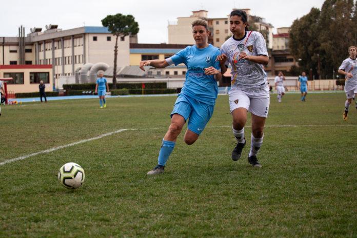 Il Napoli Femminile vince lo scontro diretto contro il Grifone Gialloverde