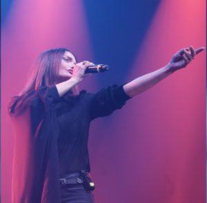 Valentina Stella in Concerto al Palapartenope nel nome della Electro Brain Music