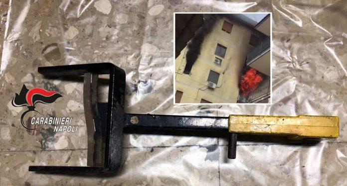 Arzano: incendia casa dei genitori e tenta di uccidere il padre di un amico