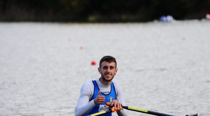 Canottaggio, Luca Annibale ha realizzato tre record italiani indoor