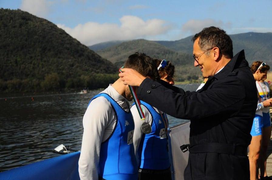 Canottaggio, Primo Meeting Nazionale: Sbarra e Lauro hanno vinto la medaglia d'oro