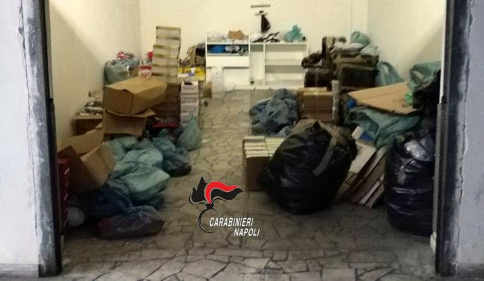 """Sant'Antimo: Blitz dei carabinieri contro abbigliamento """"pezzotto"""""""