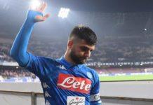 Calcio Napoli, Insigne al passo d'addio: cinque club alla finestra