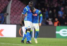 Calcio Napoli fuori dall'Europa League. Prestazione deludente, vince l'Arsenal 1-0