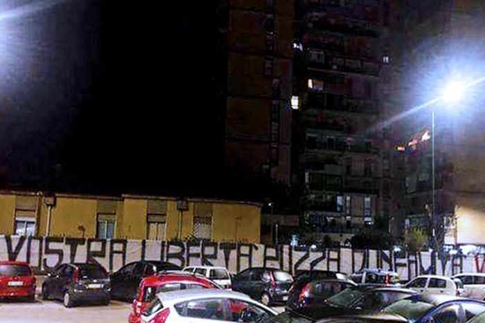 Striscione contro i pentiti a Scampia: Papais scrive a Salvini