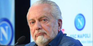 Calcio Napoli eliminato dall'Europa League: Aurelio De Laurentiis contestato