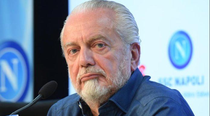 """De Laurentiis attacca Caldoro: """"Hai già perso, non farti doppiare da De Luca"""""""
