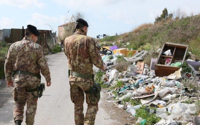 Terra dei fuochi, task force in azione: vari sequestri tra Caserta e Napoli