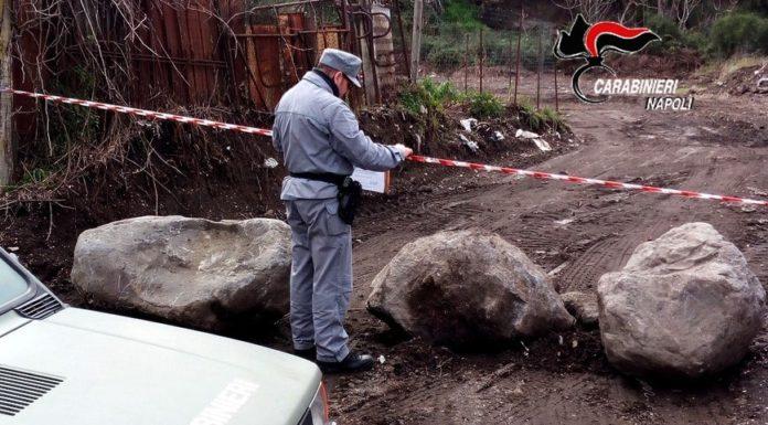 Parco Nazionale del Vesuvio: droni scoprono due discariche illecite