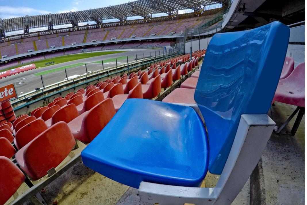 Napoli, Stadio San Paolo: Al via i lavori per sostituire i seggiolini