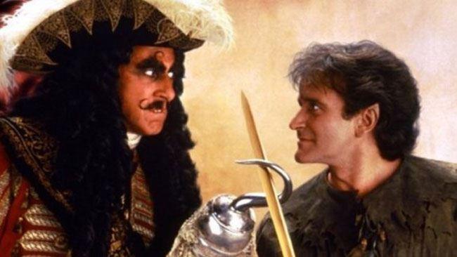"""Anticipazioni tv, i film di mercoledì 10 aprile: """"Hook, Capitan Uncino"""""""