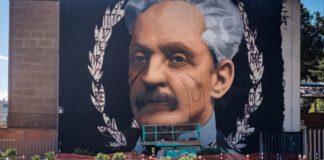 """Jorit dedica un murale ad Antonio Cardarelli: """"Un simbolo"""""""