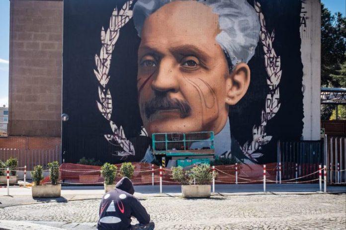 Jorit dedica un murale ad Antonio Cardarelli: