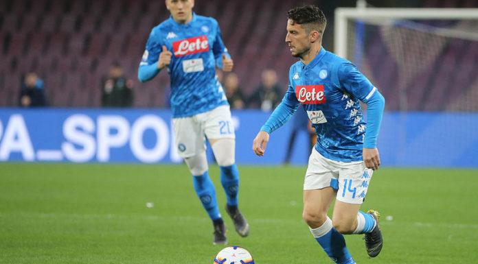Calcio Napoli: Ospina torna in gruppo, trauma alla tibia per Mertens