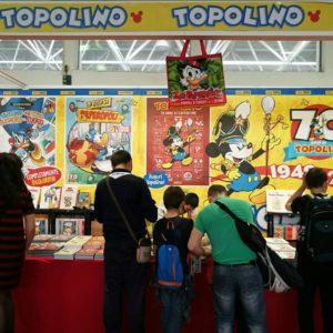 Topolino Canova sulla copertina speciale dedicata al Comicon. Gli eventi del terzo giorno