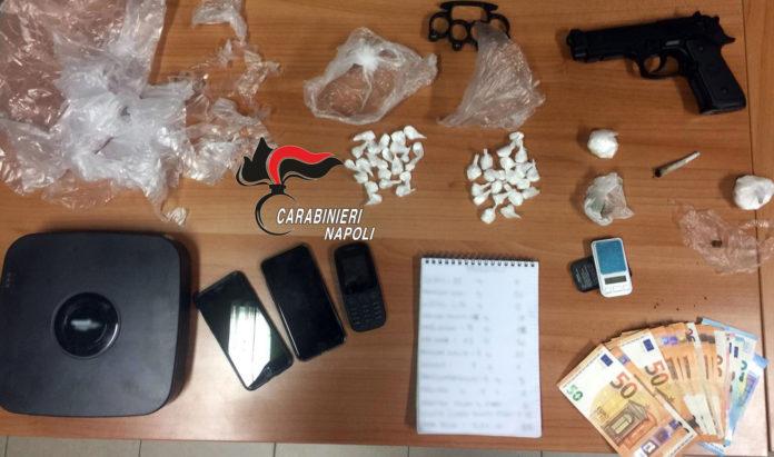 Portici: Tre arresti per spaccio di cocaina, hashish e marijuana. I NOMI