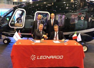Leonardo: contratto con Sloane per due ulteriori elicotteri AW109 VIP