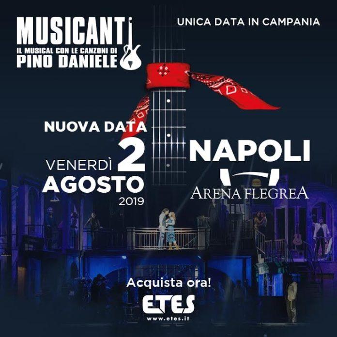 All'Arena Flegrea ritorna Musicanti, il musical con le canzoni di Pino Daniele