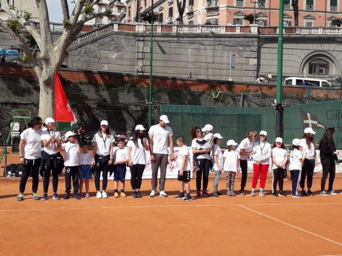 """Grande successo al Circolo Canottieri del Tennis Day """"L'abbraccio di Matteo"""""""