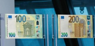 Euro: da oggi in circolazione le nuove banconote da 100 e 200