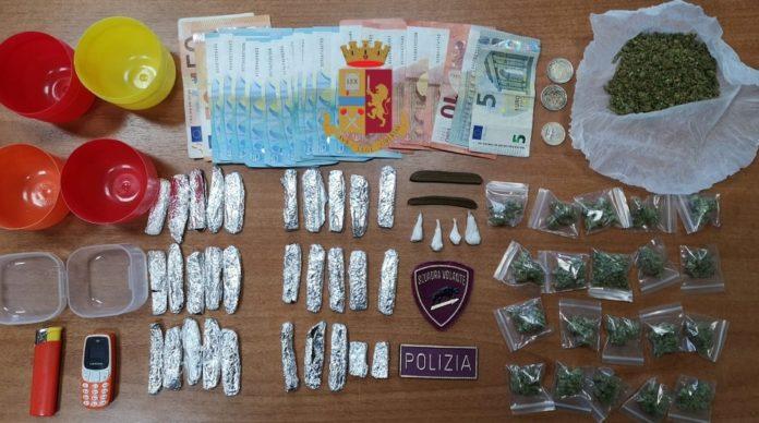 Napoli, Fuorigrotta: Arrestato dalla Polizia36enneper droga nel rione Lauro