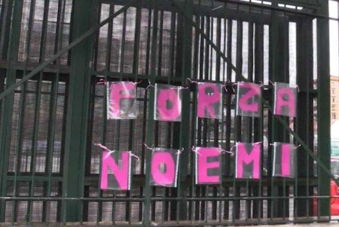 Sparatoria a piazza Nazionale: Noemi è sveglia e cosciente
