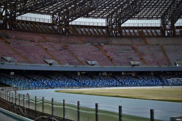 Universiade, Stadio San Paolo: Si lavora anche di notte in tutti i cantieri