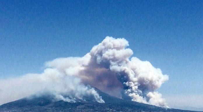Parco Nazionale del Vesuvio: testati i droni contro i roghi