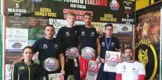 Kickboxing Improta: tre cinture nei campionati nazionali assoluti I.C.O. Italia