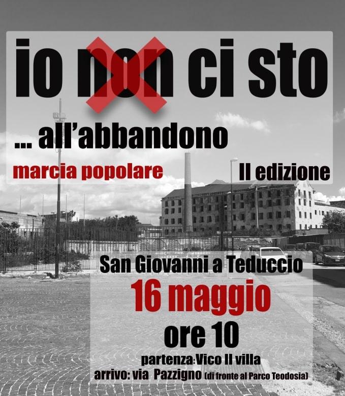 San Giovanni a Teduccio: una marcia popolare per dire no all'abbandono