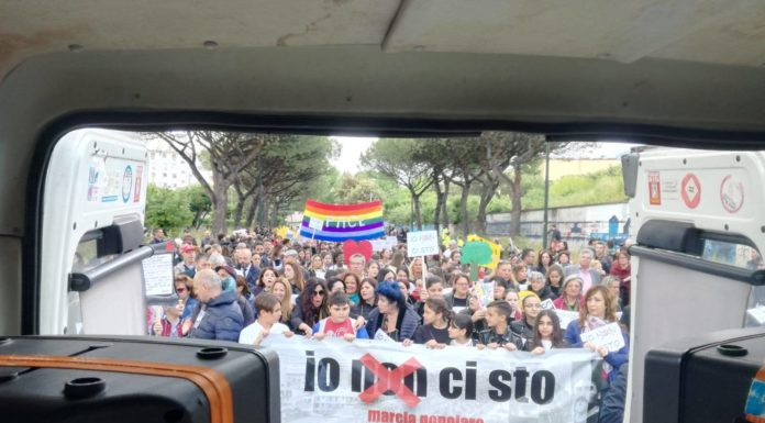 San Giovanni a Teduccio: circa 1500 persone hanno fatto sentire la propria voce