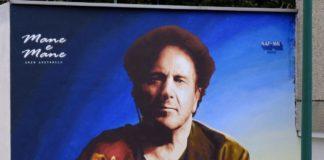 Enzo Avitabile: uno splendido murale ai Coli Aminei per il Maestro