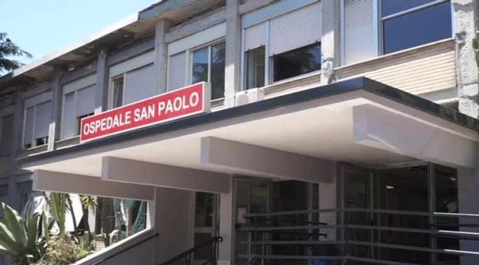 Ospedale San Paolo, muore soffocato da un boccone di pizza: polemiche su soccorsi