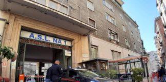 Notte di terrore all'Ospedale Pellegrini, sparatoria nel cortile