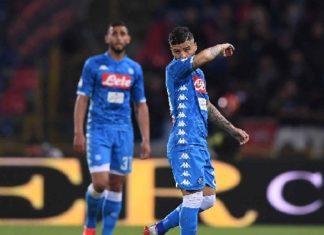 Calcio Napoli distratto in difesa e con troppe assenze: il Bologna vince 3-2