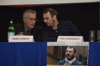 """Paolo Borrometi, giornalista sotto scorta, presenta il libro """"Un morto ogni tanto"""""""