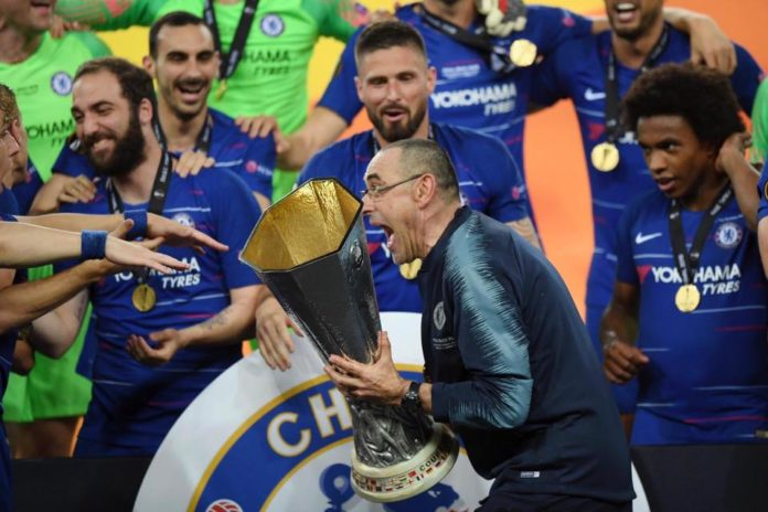 sarri europa league