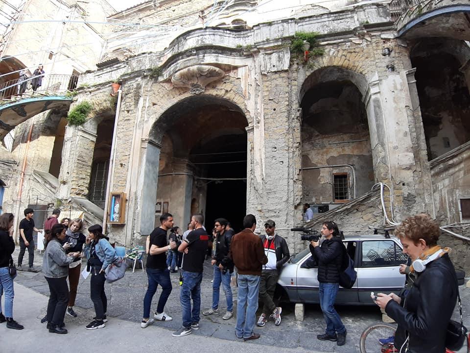 Ecco il film su Ciro l'Immortale: il set a San Giorgio a Cremano
