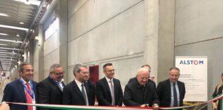 Alstom: inaugurata a Nola una nuova area dedicata alla manutenzione 4.0