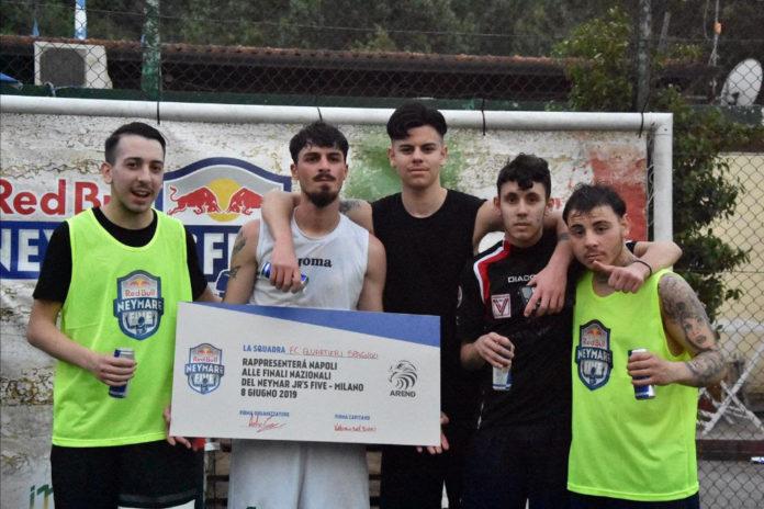 Red Bull Neymar Jr's Five: FC Quartieri Spagnoli e Paris S. Gennar 2.0 vincono la tappa di Napoli