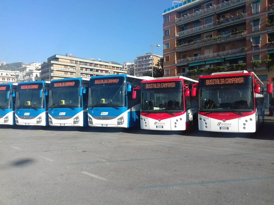 Bus non sicuri nel Salernitano: solo otto in circolazione nella giornata di ieri